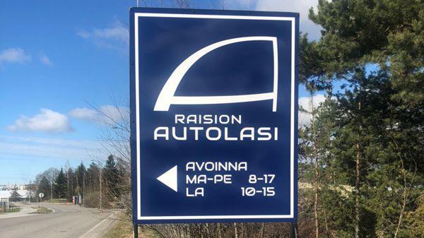 Raision Autolasi Oy, Raisio