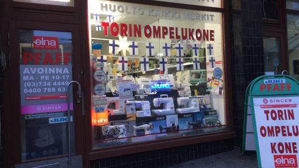 Torin Ompelukone, Lahti
