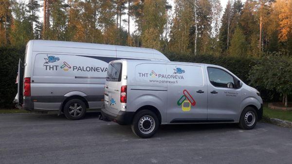 Talohuoltotehtävät P. Paloneva, Kauhajoki