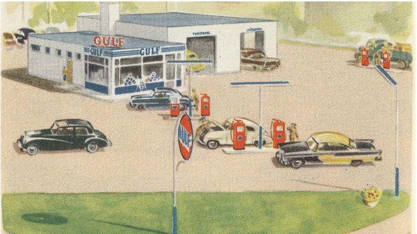 Gulf Autokorjaamo, Oulu