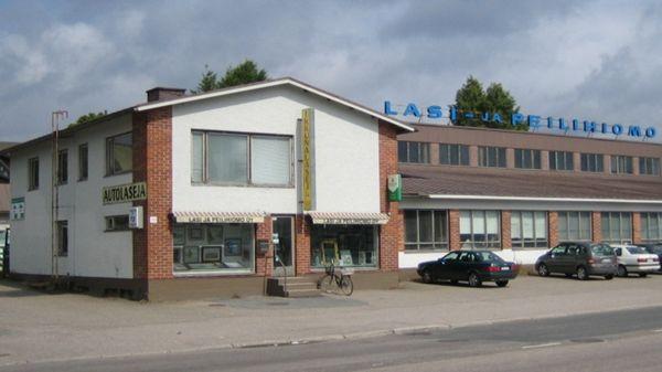 Lappeenrannan Lasi- ja Peilihiomo Oy, Lappeenranta