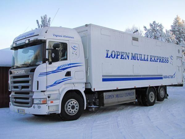 Lopen Mulli Express, Loppi