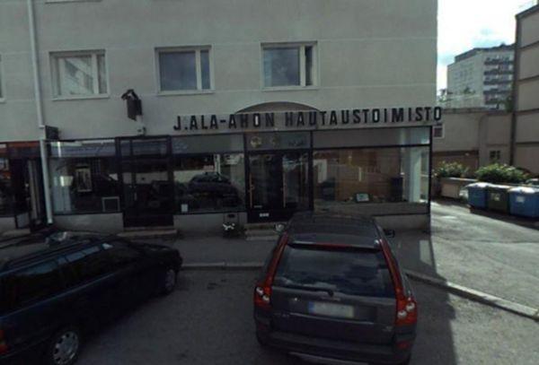J. Ala-Ahon Hautaustoimisto, Oulu