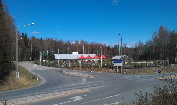 Puutarhamyymälä Muhevainen Oy, Helsinki