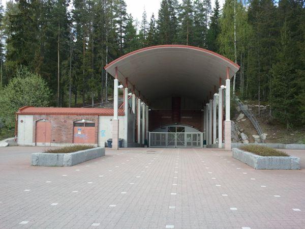 Kuopion kaupunki Lippumäen uima- ja jäähalli, Kuopio