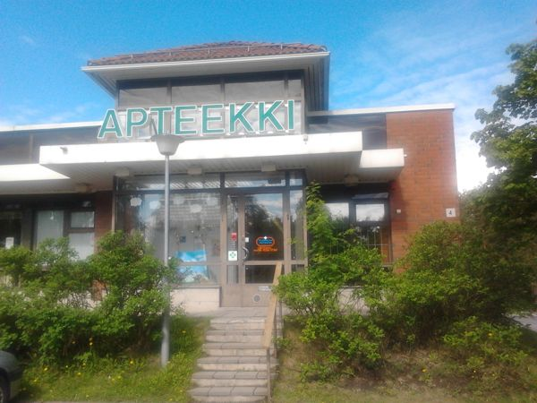 Vuorelan apteekki, Siilinjärvi