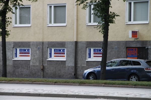 Bike-Service, Helsinki
