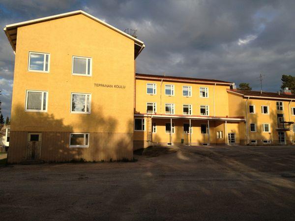 Kajaanin kaupunki Teppanan koulu, Kajaani