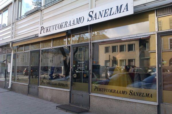 Pukuvuokraamo Sanelma, Turku
