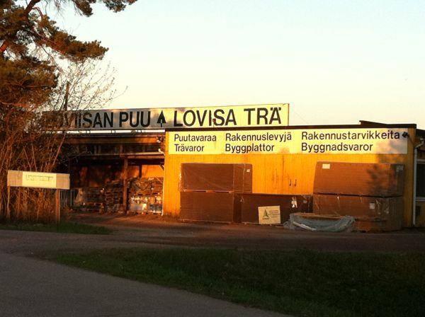 Loviisan Puu Oy - Lovisa Trä Ab, Loviisa