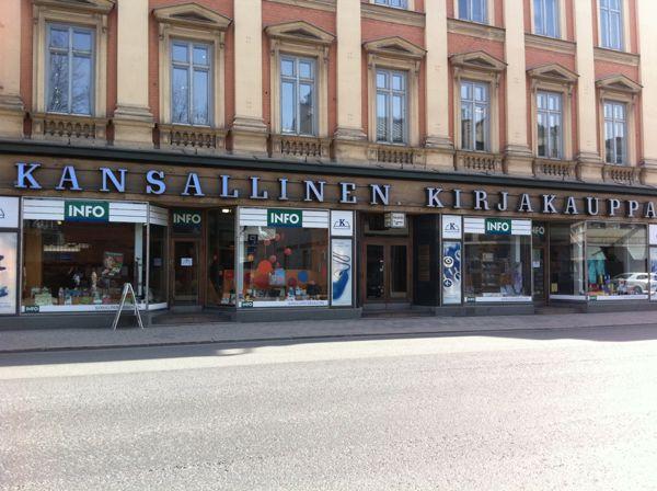 Turun Kansallinen Kirjakauppa Oy, Turku