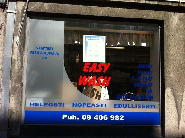 Pesula Easy Wash, Helsinki