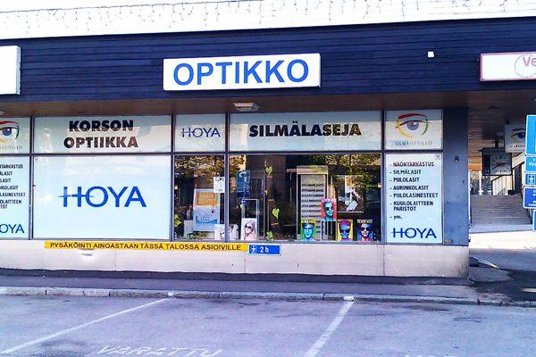 Korson Optiikka, Vantaa