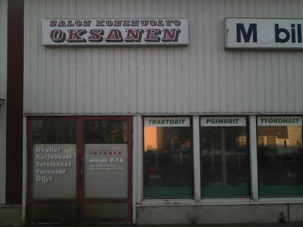 Salon Konehuolto Oksanen Oy, Salo