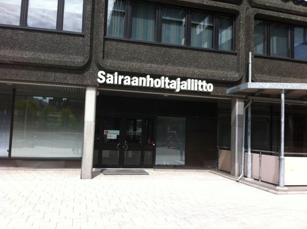 Sairaanhoitajaliitto / Suomen sairaanhoitajaliitto ry, Helsinki