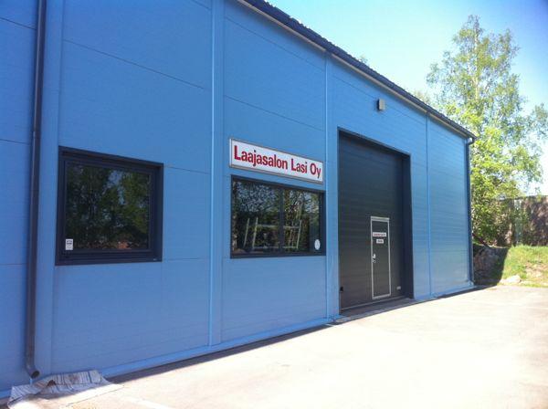 Laajasalon Lasi Oy, Vantaa