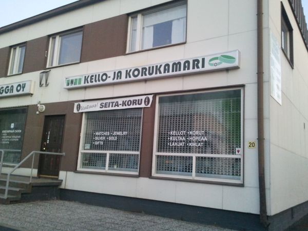 Kello- ja Korukamari, Sodankylä