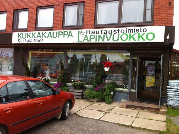 Kukkakauppa-Hautaustoimisto Lapinvuokko Ky, Kolari