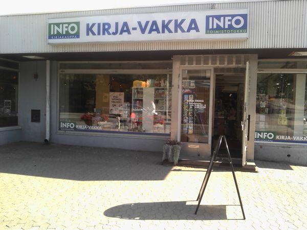 Kirja-Vakka Oy, Uusikaupunki