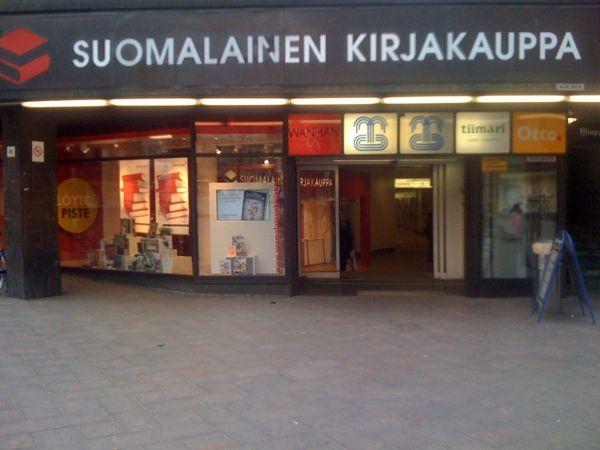 Suomalainen Kirjakauppa Espoo Leppävaara Sello, Espoo