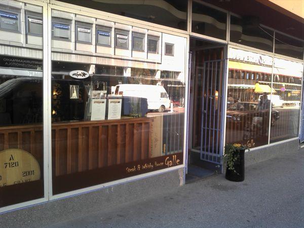 Ravintola Steak & Whisky House Galle, Pori