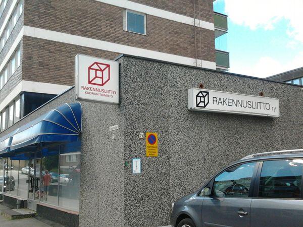 Rakennusliiton Itä-Suomen aluetoimisto, Kuopio, Kuopio