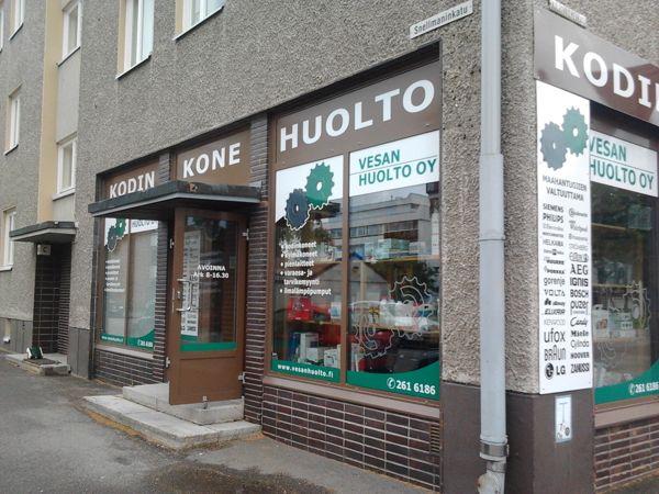 Kodinkonehuolto Vesan-Huolto Oy, Kuopio
