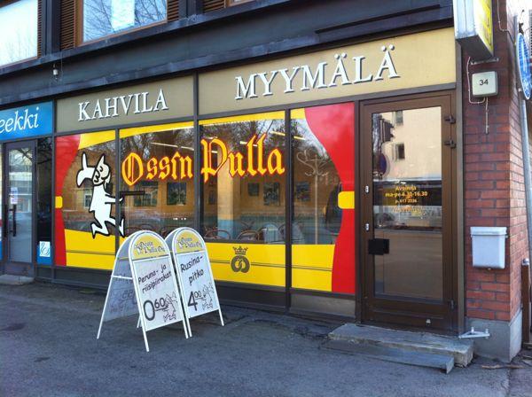 Ossin Pulla Oy Myymälä, Hämeenlinna