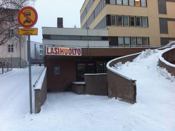 Jyväskylän Lasihuolto Oy, Jyväskylä