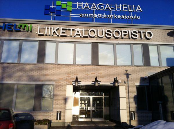 Haaga-Helia ammattikorkeakoulu Malmin kampus, Helsinki