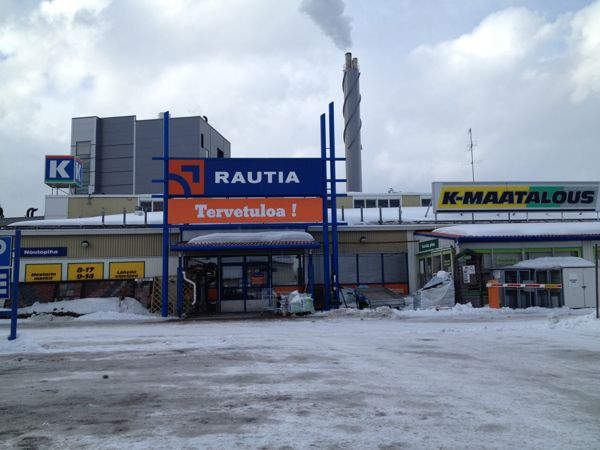 K-Rauta Järvenpää Aukioloajat