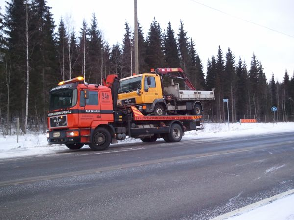 Jyväskylän Hinauspalvelu, Jyväskylä