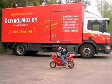 Öljykolmio Oy, Lieto
