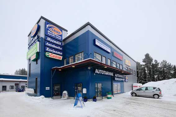 Fixus myymälä / Kangasalan Autotarvike, Kangasala