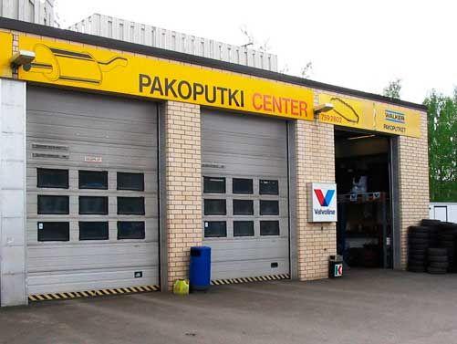 Uudenmaan Pakoputki-Center Oy, Helsinki