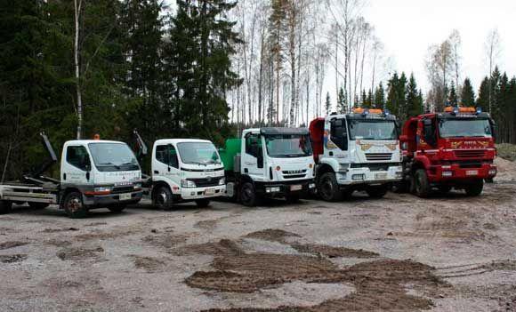 Kuljetusliike P & K Bäckroos Oy, Porvoo