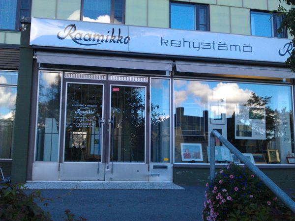 Kehystämö-Taideliike-Galleria Raamikko, Parkano