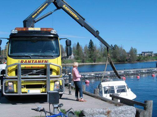 Hinaus- ja kuljetuspalvelu Rantanen Oy, Jyväskylä