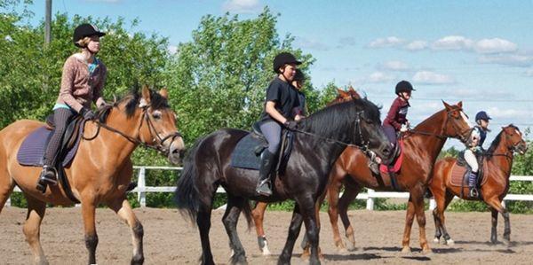Tuomarinkylän ratsastuskoulu-Domarby Ridskola, Helsinki