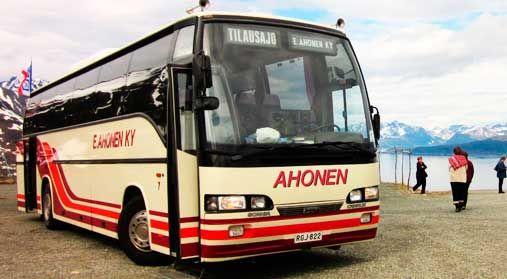 Linja-autoliike E. Ahonen Ky, Kuopio