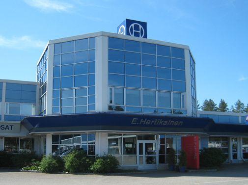 Autotalo Hartikainen Joensuu, Joensuu