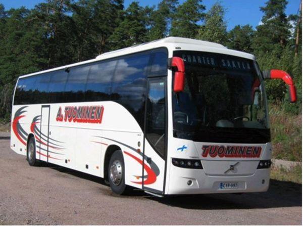 Linja-autoliikenne A. Tuominen avoin yhtiö, Säkylä