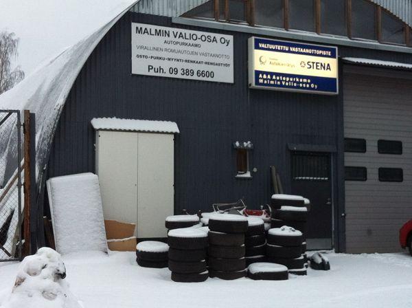 A & A Autopurkaamo Malmin Valio-osa Oy, Helsinki