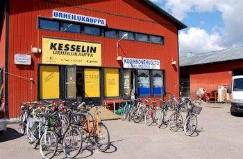 Urheilukauppa Kesselin Urheilukauppa Oy, Kirkkonummi