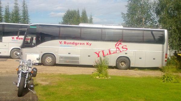 Liikennöitsijä Rundgren V Ky, Kolari