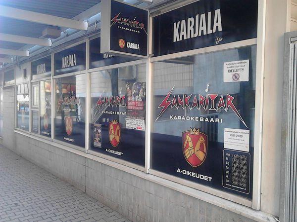 Karaokebaari Nightclub Sankaritar, Espoo