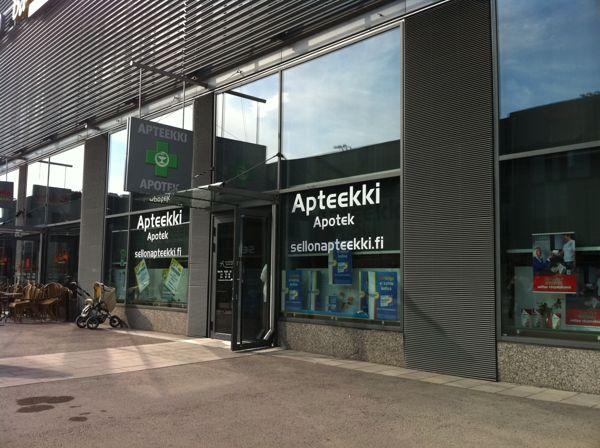 Sellon Apteekki, Espoo