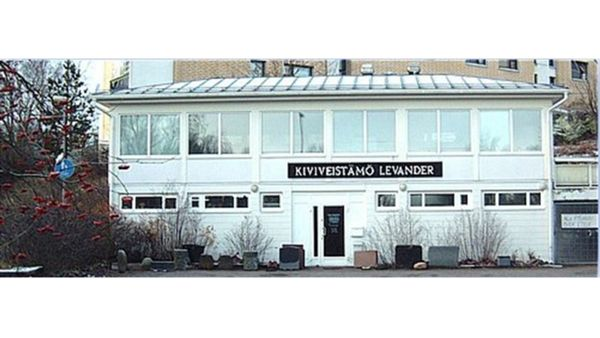 Kiviveistämö Levander Oy, Helsinki