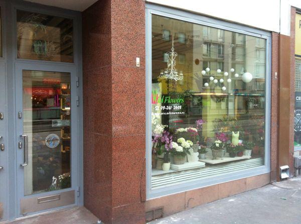 Kukkakauppa Wild Flowers, Helsinki