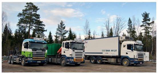 BMA Miljö Transport-Kuljetus, Parainen